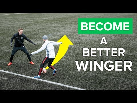 HOW TO BE A BETTER WINGER | Improve your football skills rig