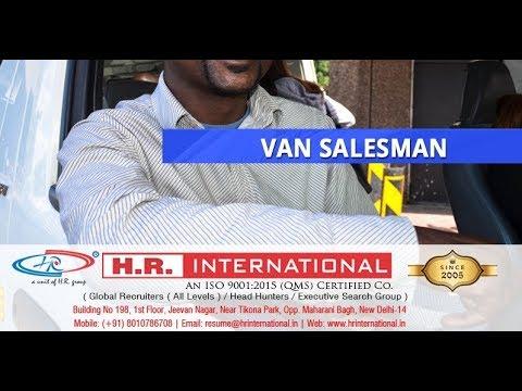 Urgently Hiring For VAN SALESMAN (Light Vehicle) For Saudi Arabia | CV  SELECTION