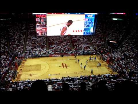 Rockets vs Thunder 2013-04-27: Third Quarter - part 2