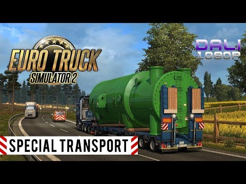 ETS 2 - Special Transport DLC - Boiler Part 45t - Dresden to Wroclaw