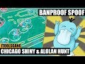 Hunting new shines & alolan Pokemon in Chicago