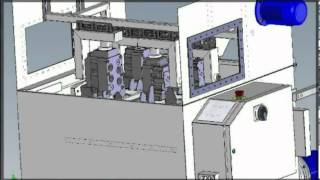 Lavadora industrial para piezas de automoción - limpieza industrial