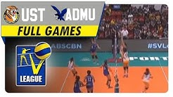 UST vs ADMU | Full Game | August 29, 2016 | Shakey's V-League | Collegiate Conference 2016