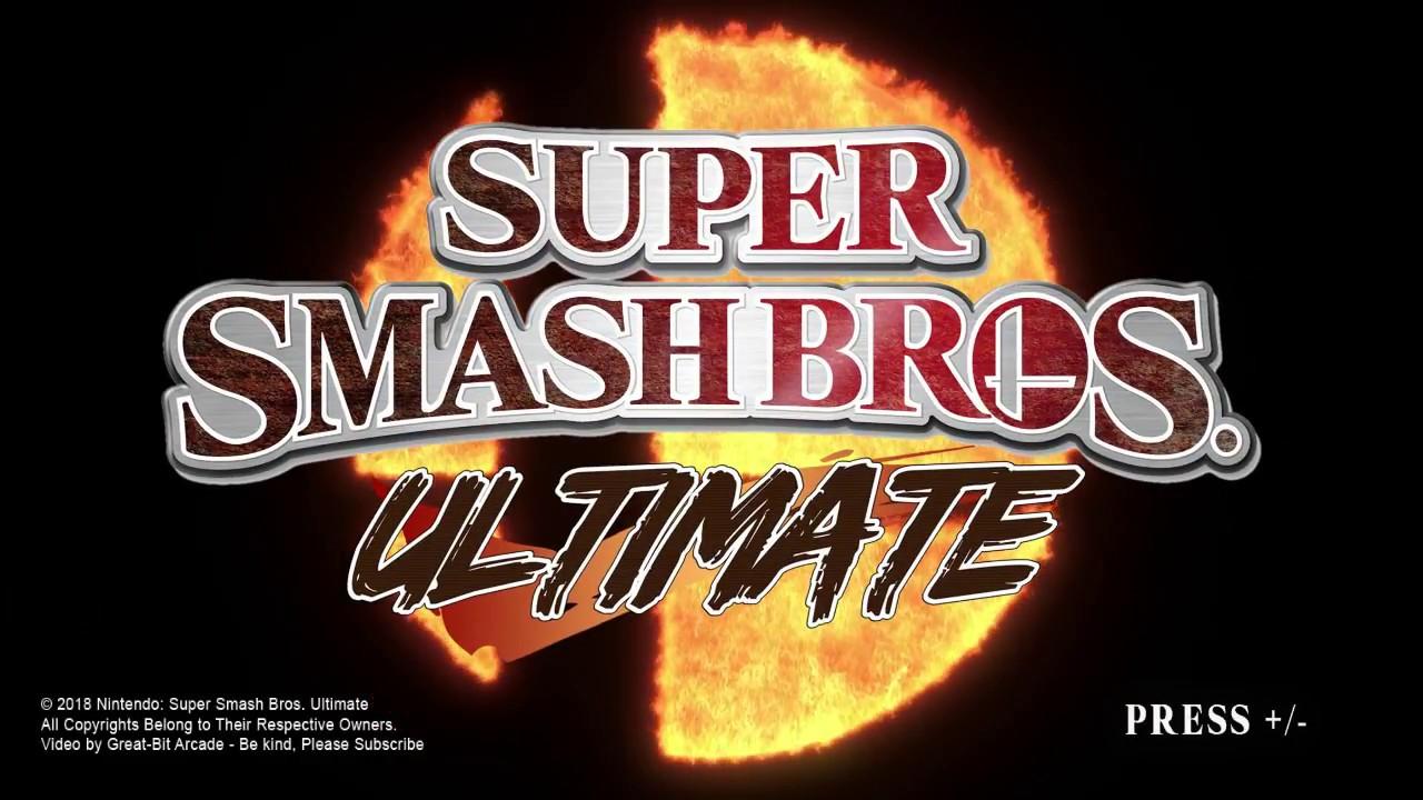 Super Smash Bros Ultimate Brawl Style Intro Great Bit Arcade Youtube