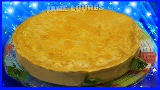 TORTA DE FRANGO (EXPLICADO PASSO A PASSO)