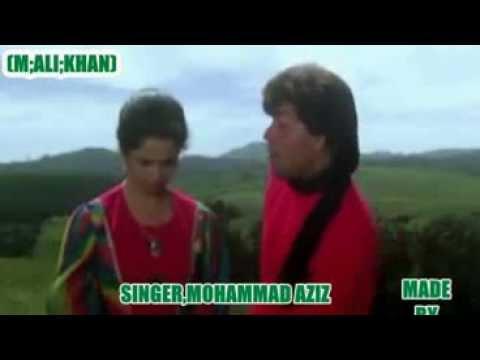 TUJHE RAB NE BANAYA KIS LIYE(Singer Mohd Aziz , Sadhana Sargam)