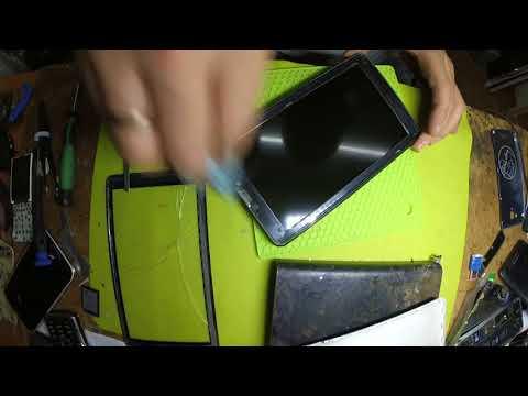 замена сенсора ( тачскрина ) на китайском планшете Nomi C07008