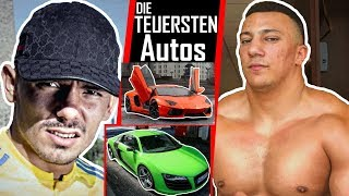 🔴 Die TEUERSTEN Autos der Rapper 🚗 🔴 Bonez MC, AZET, Capital Bra...