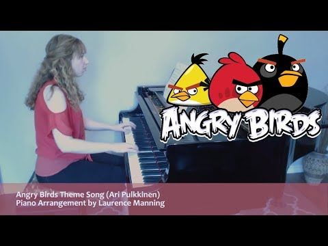 Angry Birds Theme Song (Piano Cover)