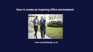 How to create an inspiring office environment