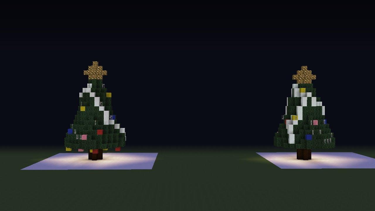 C mo hacer un rbol de navidad en minecraft peseral 1 - Arbol tipico de navidad ...