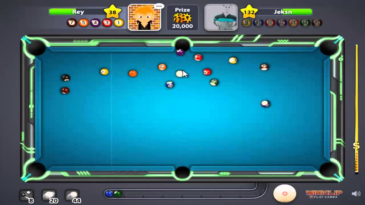 8 ball pool multiplayer-Call pocket on all shots - YouTube