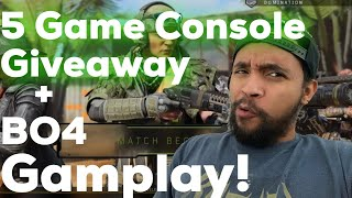 PS4 - Black Ops 4 Gameplay & 5 Console Giveaway!