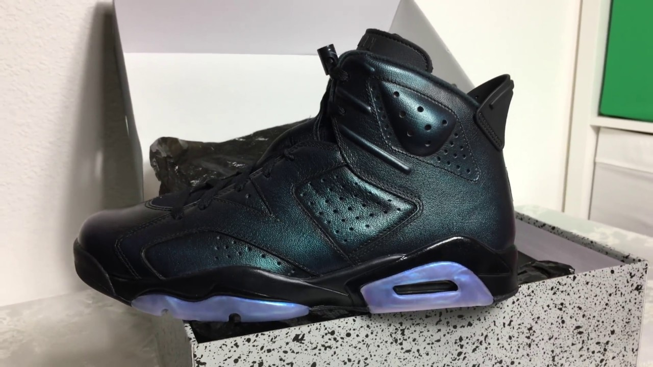 Nike Air Jordan 6 Retro Gotta Shine All Star Unboxing