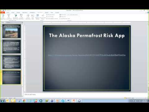 Alaska Permafrost Risk Application:Citizen