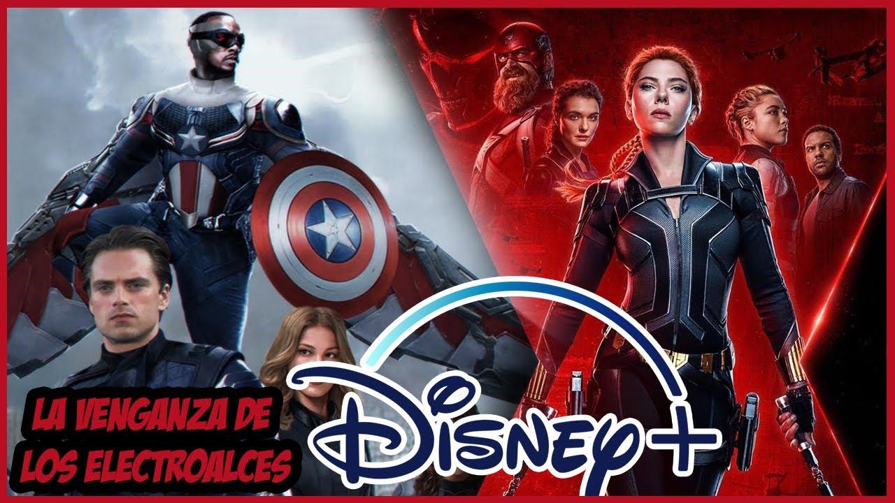 ¿Qué Pasa con el Estreno de Black Widow y las Series de Marvel en Disney +?
