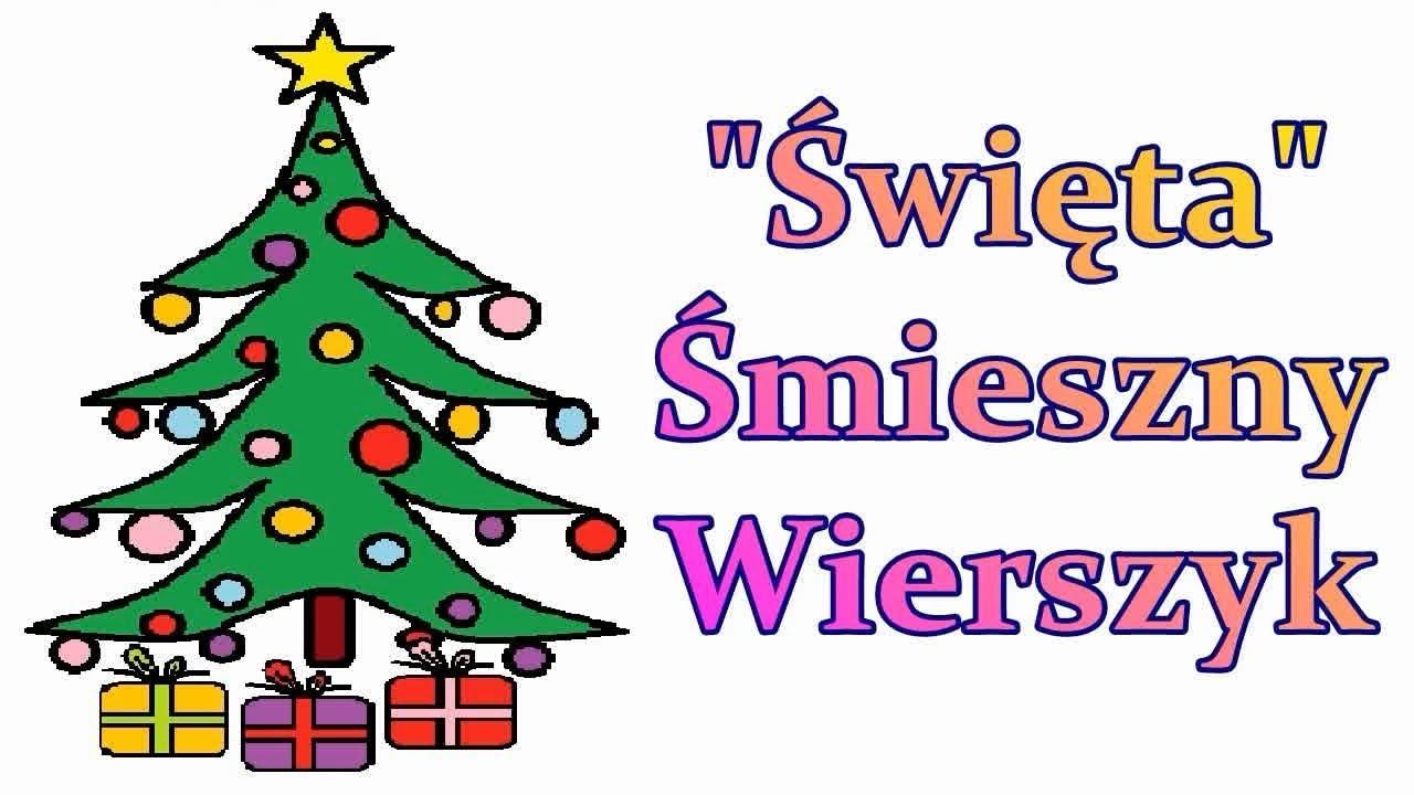 Wierszyk O świętach śmieszne Wierszyki świąteczne Rymowanki Dowcipy Humorek Teksty Na święta Pl