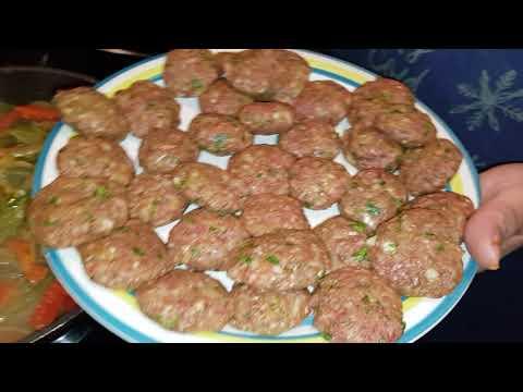 recette-poivrons-mélangés-avec-la-viande-hachée