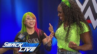 Why did Asuka help Naomi last week?: SmackDown LIVE, Sept. 11, 2018