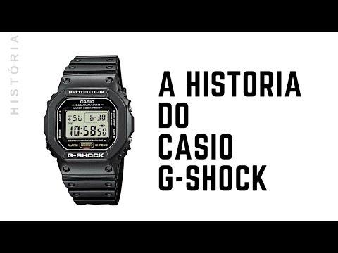 A História Do Casio G-Shock