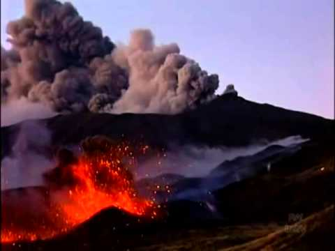 Volcano Etna (Sicily): Eruption 2002