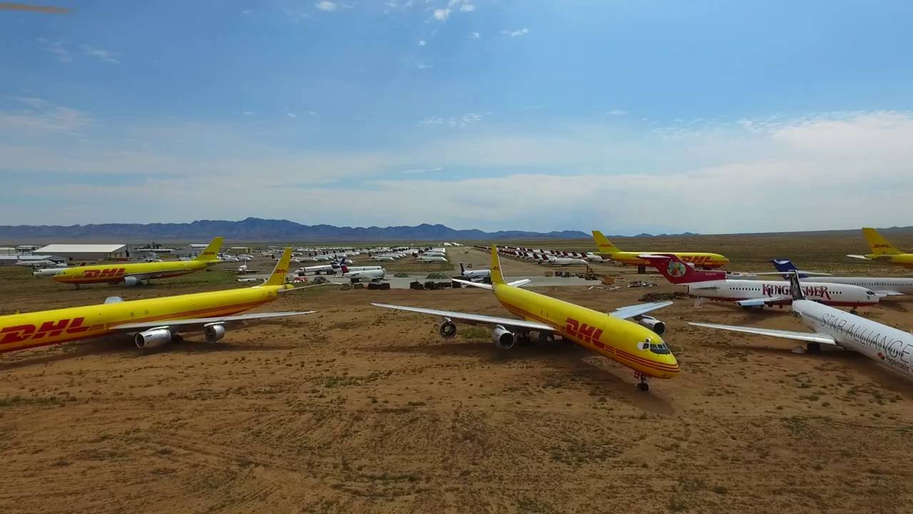 Where Planes Go to Die: A Guide to Aircraft Boneyards