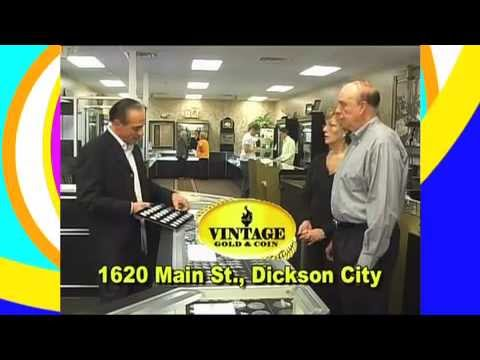 Item #1123 Vintage Gold & Coin - WVIA Auction 2013