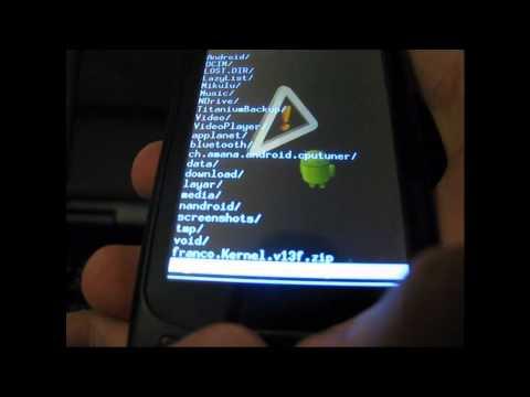 Tutorial - Corrigindo o bug do touch screen + Overclock + alteração do Kernel