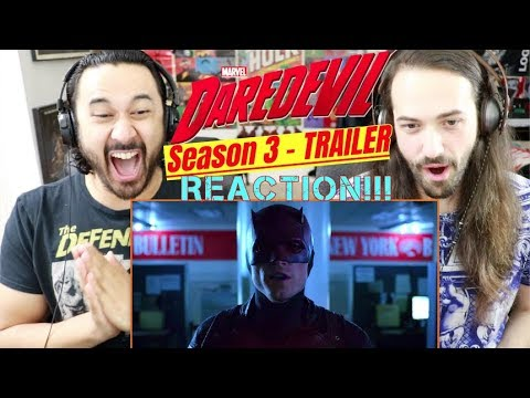 Marvel's DAREDEVIL: SEASON 3 | Official TRAILER - REACTION!!!