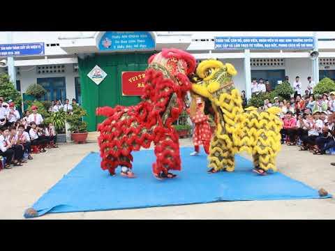 Múa Lân - Rước đèn - Quá Hay Tại Khánh Hòa - Hoc Online NQK