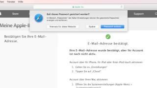 OS X Anleitung: iCloud via E-Mail aktivieren