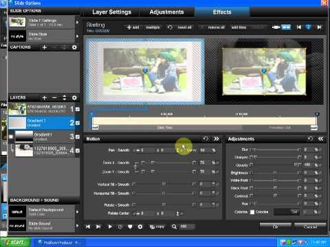 [Tutorial] Hướng Dẫn Tạo Styles Proshow Producer 5.0 - Frame P.2