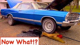 Now What!? Car Starter Problems On 67 Ford Galaxie 500