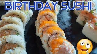 Sushi | Birthday Dinner | Celebrations | *Wow |  #SHORTS