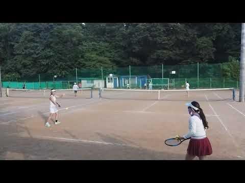 [테니스매니아 강남불패] 김태희,서혜미vs김정인,한서윤 1