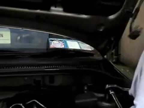 how to change fuel filter 2007 toyota avensis part 2 - YouTube