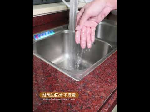 How To Caulk Seal A Kitchen Sink On A Laminate Countertop