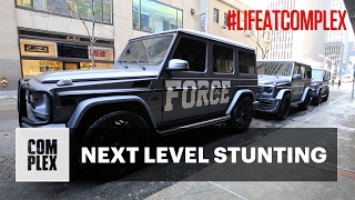 NIKE IS STUNTING WITH THESE G-WAGONS | #LIFEATCOMPLEX