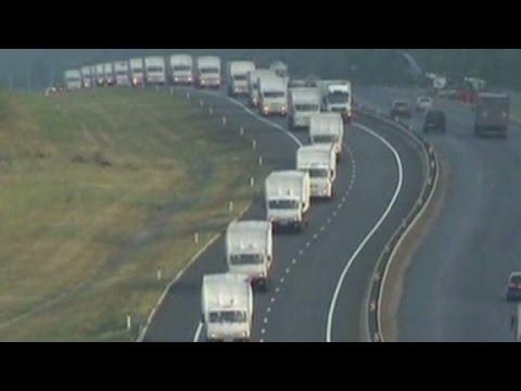 Ukraine suspicious of Russian convoy