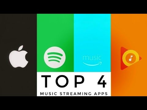 Top 4 Music Streaming Apps