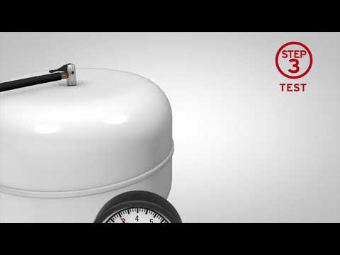 How To Check and Recharge an External Expansion Vessels   Unvented Cylinders