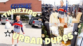 THRIFTING URBAN OUTFITTER DUPES ☆ + try on haul