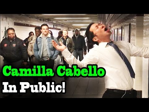 Cover Lagu CAMILA CABELLO - Never be the Same - SINGING IN PUBLIC!! STAFABAND