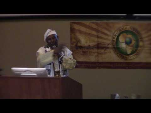 Professor James Small (African Spirituality Conference: Essex College)