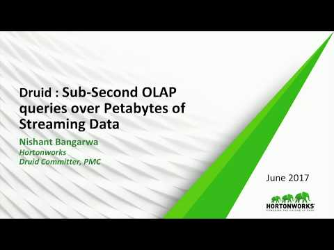 DRUID   SUB SECOND OLAP QUERIES OVER PETABYTES OF STREAMING DATA