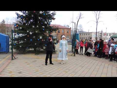 Открытие городской елки 2019 в Апшеронске