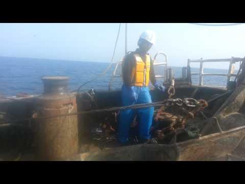 Cara Kerja Trawl 2 Kapal ( Turun Jaring )