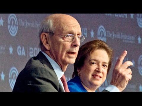 Stephen Breyer and Elena Kagan on Being Jewish Justices