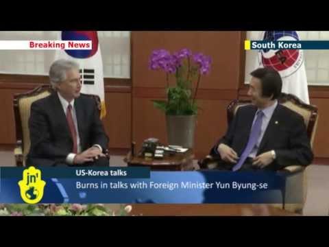 US-Korea talks: US Deputy Secretary of State William Burns in Seoul
