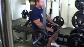 IM2000 Seated Calf Raise Demonstration